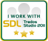 I work with Trados Studio 2011